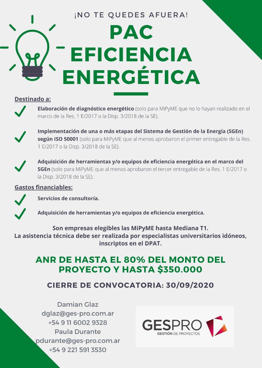pac eficiencia energetica